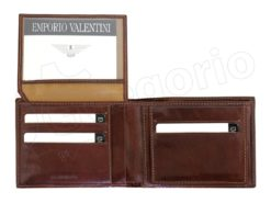 Emporio Valentini Man Leather Wallet Brown-4712