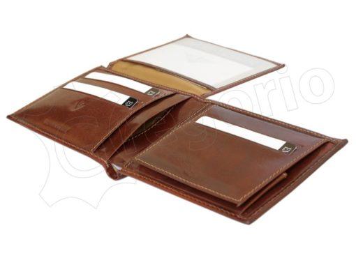 Emporio Valentini Man Leather Wallet Black-4728