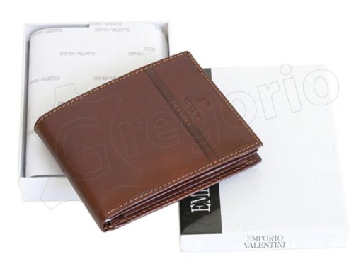 Emporio Valentini Man Leather Wallet Brown-4711