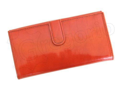 Renato Balestra Leather Women Purse/Wallet Orange Dark Brown-5583