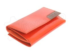 Renato Balestra Leather Women Purse/Wallet Brown Orange-5575