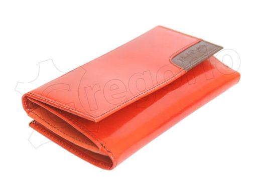 Renato Balestra Leather Women Purse/Wallet Orange Dark Brown-5590
