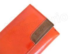 Renato Balestra Leather Women Purse/Wallet Orange Brown-5549