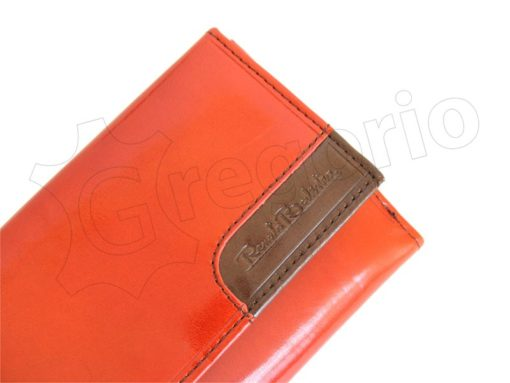 Renato Balestra Leather Women Purse/Wallet Brown Orange-5564