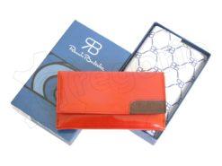 Renato Balestra Leather Women Purse/Wallet Orange Dark Brown-5587