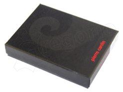 Pierre Cardin Man Wallet with Horse Dark Brown-5019