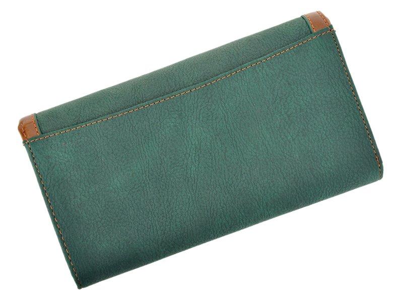 Harvey Miller Polo Club Women Leather Wallet/Purse Green-5354