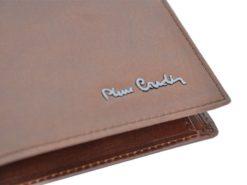 Pierre Cardin Man Leather Wallet Brown-4771