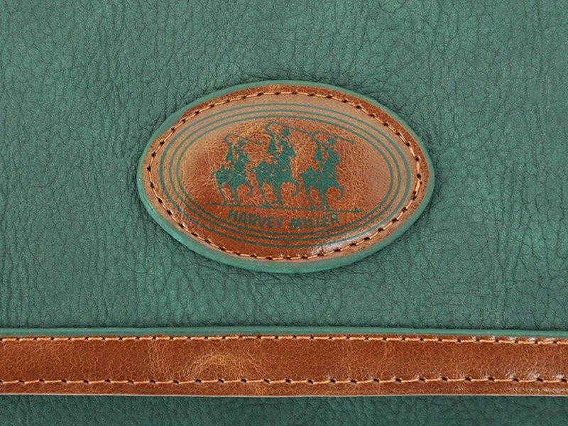 Harvey Miller Polo Club Women Leather Wallet/Purse Brown-5348