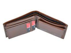 Pierre Cardin Man Leather Wallet Brown-4770