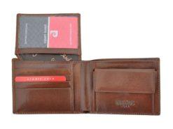 Pierre Cardin Man Leather Wallet Brown-4769
