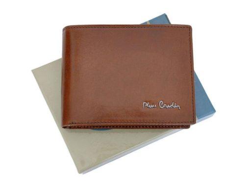 Pierre Cardin Man Leather Wallet Brown-4775
