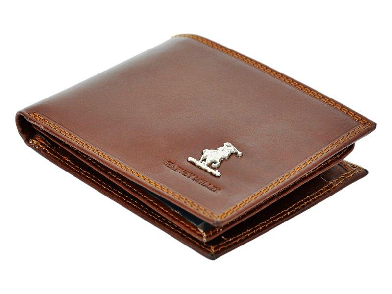 Harvey Miller Polo Club Man Leather Wallet BLack-5290