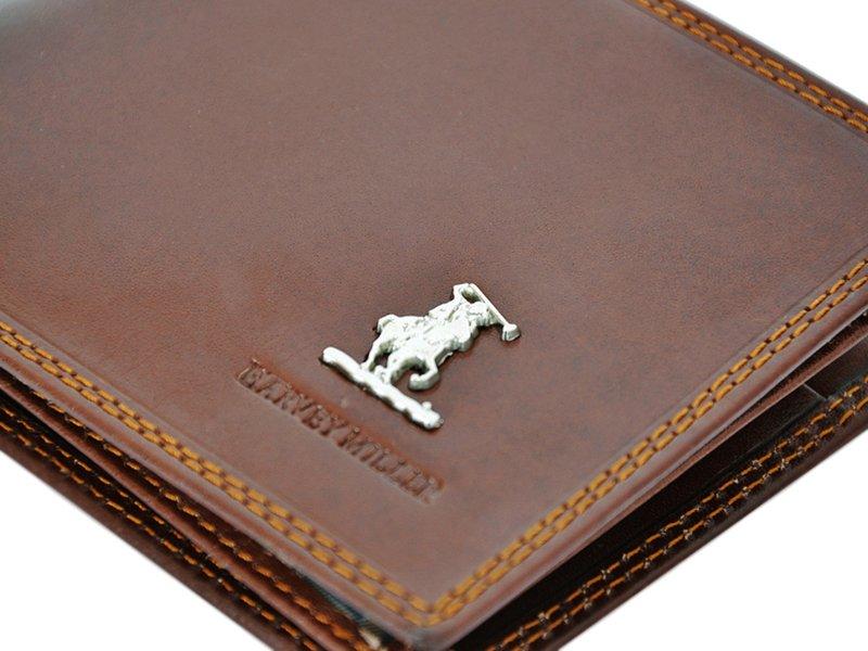 Harvey Miller Polo Club Man Leather Wallet BLack-5292