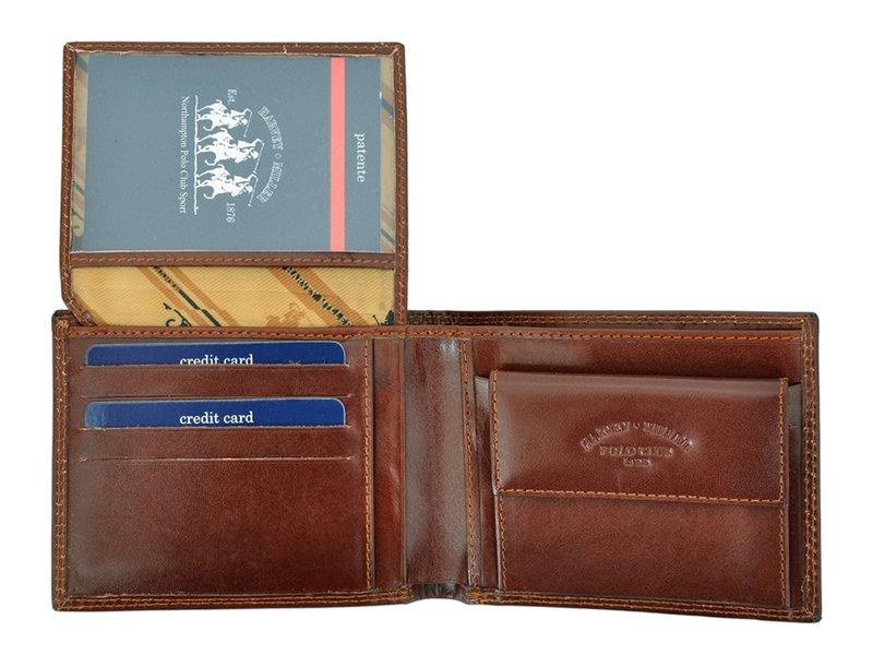 Harvey Miller Polo Club Man Leather Wallet BLack-5291