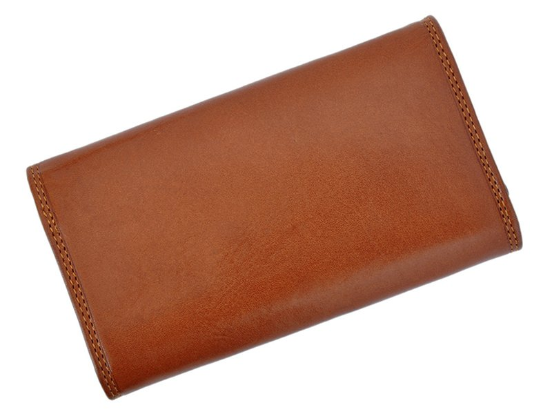 Harvey Miller Polo Club Women Leather Wallet/Purse Brown-5366