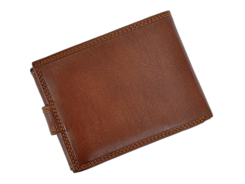 Harvey Miller Polo Club Man Leather Wallet Brown-5283
