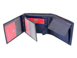 Pierre Cardin Man Leather Wallet Blue-4760