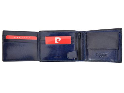 Pierre Cardin Man Leather Wallet Blue-4761