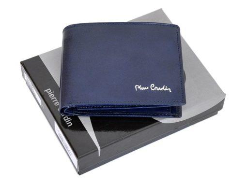 Pierre Cardin Man Leather Wallet Blue-4766
