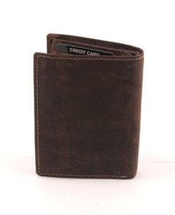 Always Wild Vintage Style Leather Wallet-6745