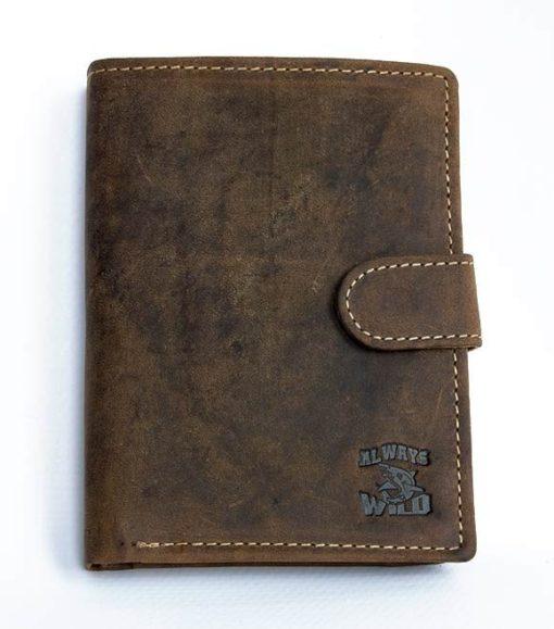 Always Wild Vintage Style Leather Wallet-6762