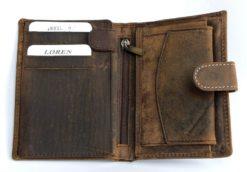 Always Wild Vintage Style Leather Wallet-6764