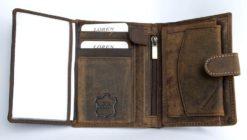 Always Wild Vintage Style Leather Wallet-6763