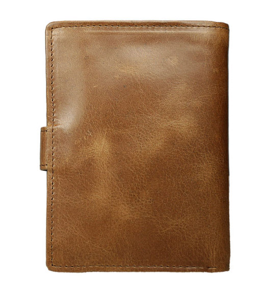 Always Wild Vintage Style Leather Wallet-6752