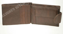 Always Wild Vintage Style Leather Wallet-6781