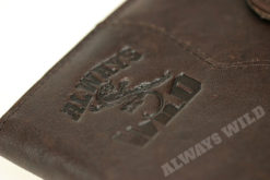 Always Wild Vintage Style Leather Wallet-6780