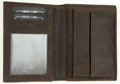 Always Wild Vintage Style Leather Wallet-6788