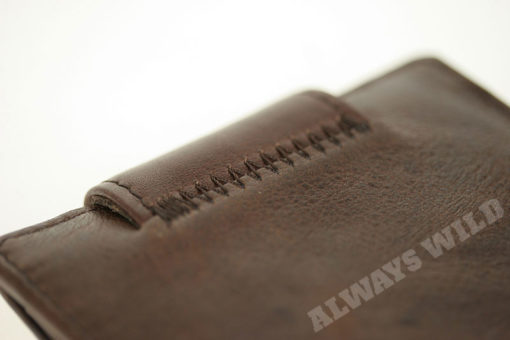 Always Wild Vintage Style Leather Wallet-6776