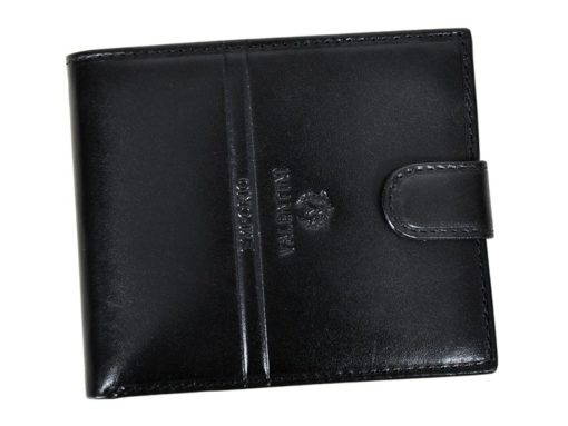 Emporio Valentini Man Leather Wallet Black IEEV563 298-6944