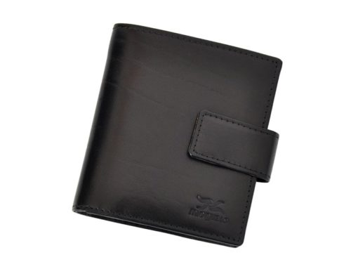 Mio Gusto Man Leather Wallet Black 264 M/A-7017