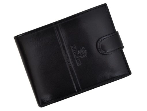 Emporio Valentini Man Leather Wallet Black IEEV563 260-6840