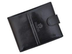 Emporio Valentini Man Leather Wallet Black IEEV563320-6829