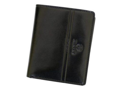 Emporio Valentini Man Leather Wallet Black IEEV563PL03-6894