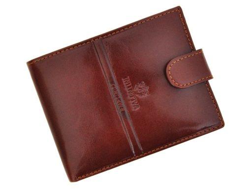 Emporio Valentini Man Leather Wallet Brown IEEV563320-6799