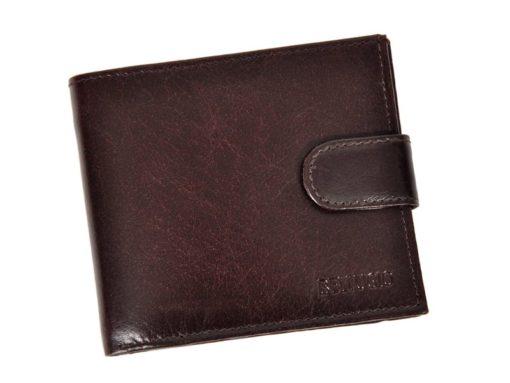Bellugio Man Leather Wallet Black AM-21-213-6961