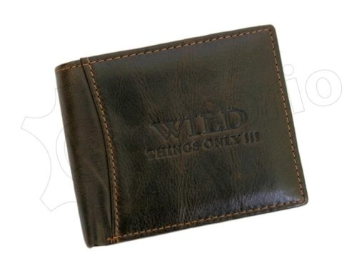 Wild Things Only Man Leather Wallet Brown IEWT5152/5509-7006
