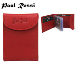 Documents Holder Paul Rossi Red-7093
