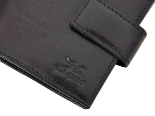 Mio Gusto Man Leather Wallet Black 264 M/A-7015