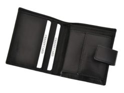 Mio Gusto Man Leather Wallet Black 264 M/A-7011