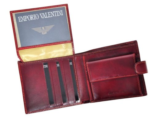 Emporio Valentini Man Leather Wallet Black IEEV563 298-6945