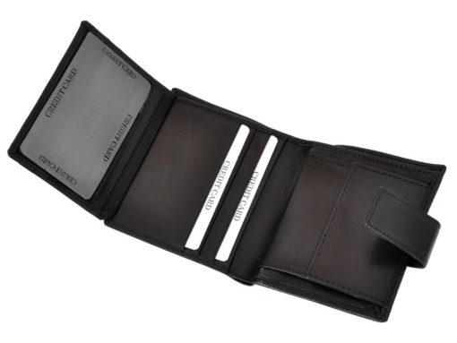 Mio Gusto Man Leather Wallet Black 264 M/A-7014