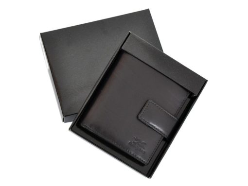 Mio Gusto Man Leather Wallet Black 264 M/A-7012