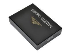 Emporio Valentini Man Leather Wallet Black IEEV563 298-6941