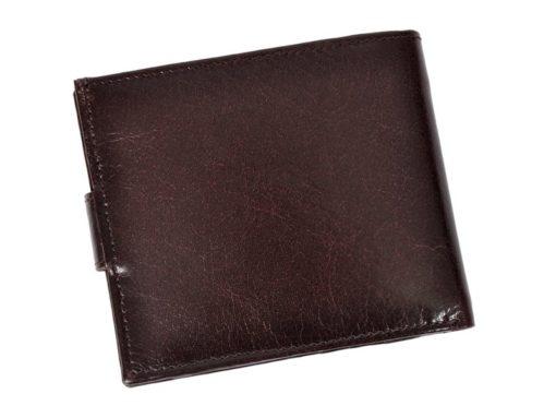 Bellugio Man Leather Wallet Black AM-21-213-6968