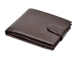 Bellugio Man Leather Wallet Brown AM-21-213-6981